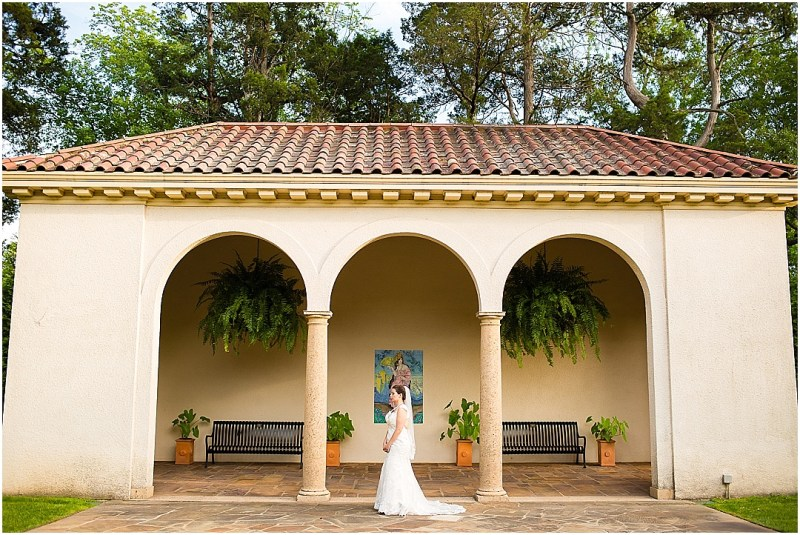 Philbrook Museum of Art Wedding Bridal Picturesque Photos by Amanda_0022
