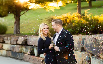 Jennifer + Aaron | Woodward and Centennial Parks Engagement | Tulsa, Oklahoma