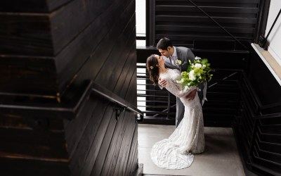Caitlin + Andres | Agora Event Center Wedding | Tulsa, Oklahoma