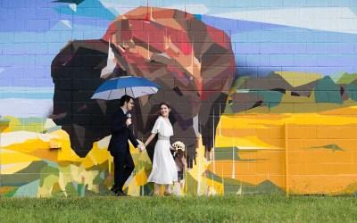 Jen + David | 918 Day Elopement and Centennial Park Reception