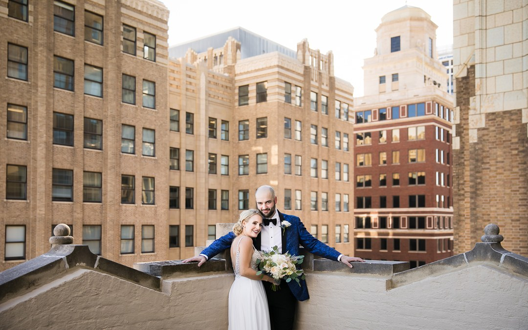 Ali + Jack | Midtown Tulsa Backyard Wedding