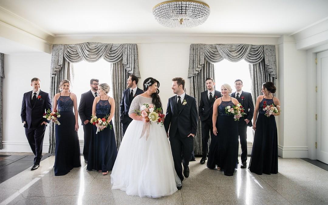 Nicole + Tim   Sharp Chapel Wedding and Mayo Hotel Reception   Tulsa, Okla.