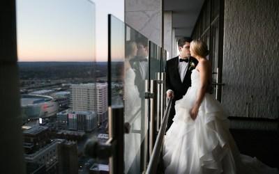 Allyson + Andrew | Saint Mary Wedding & Summit Club Reception