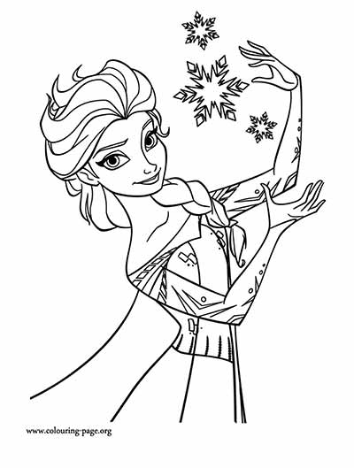 101 Frozen Coloring Pages (July 2018 Edition) - Elsa coloring pages