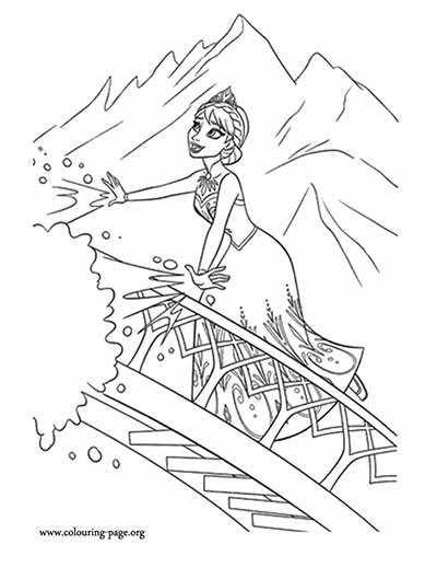 catalin ifrim elsa coloring pages - photo#12