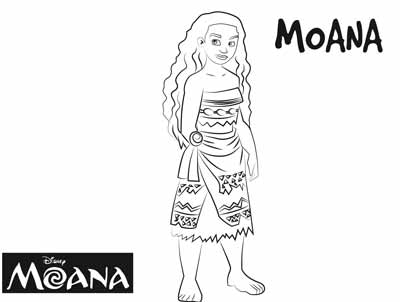 59 Moana Coloring Pages (updated May 2018)