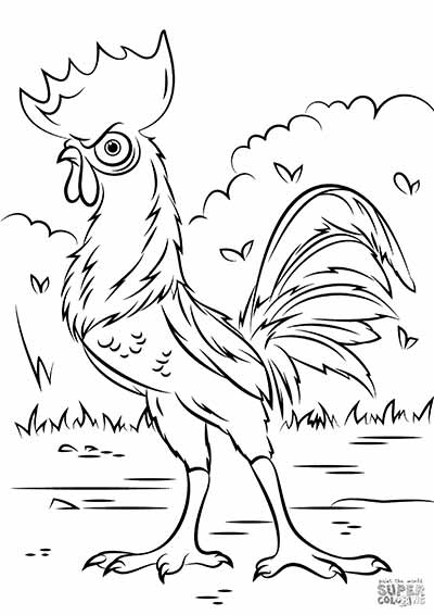 tala coloring pages from moana - Coloring Page Moana