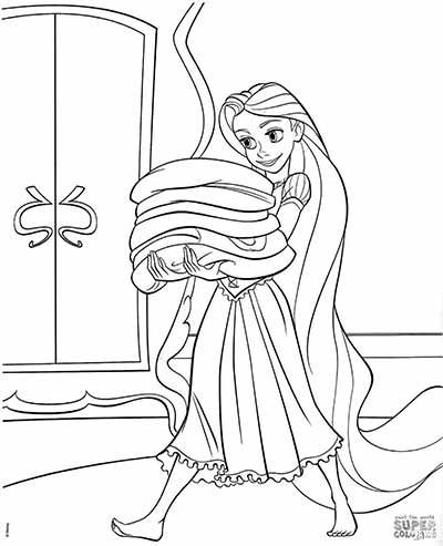 170 Free Tangled Coloring Pages July 2018 Rapunzel