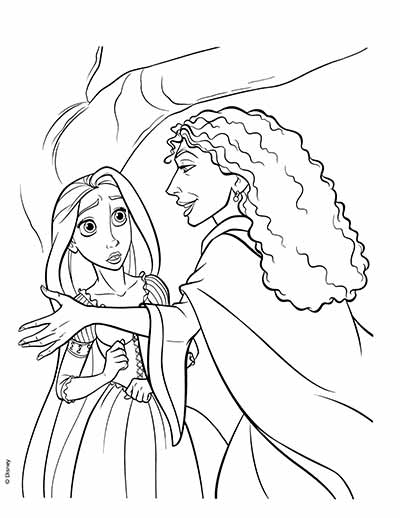 170 FREE Tangled Coloring Pages May 2018 Rapunzel Coloring Pages