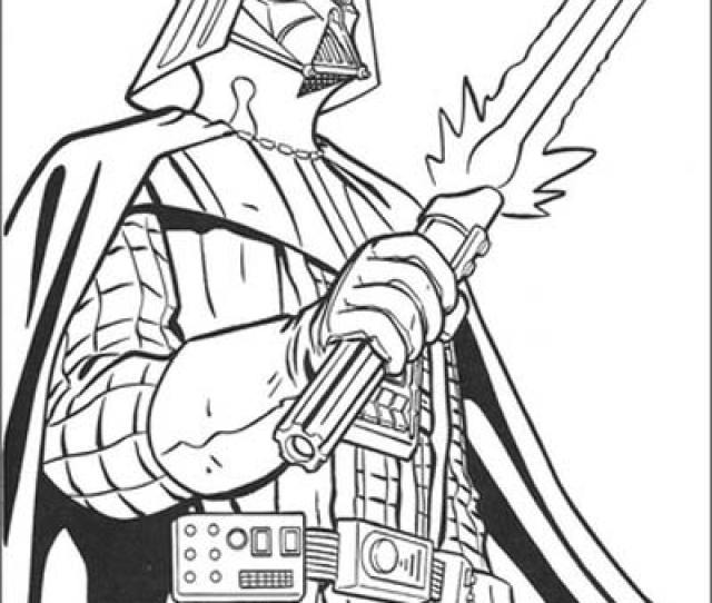 Star Wars Coloring Pages Feb  Darth Vader Coloring