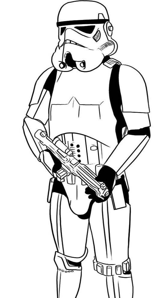 101 Star Wars Coloring Pages (June 2020)...Darth Vader