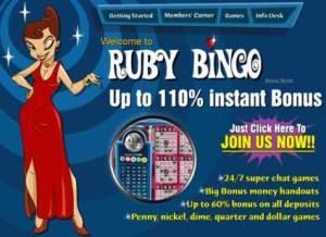 Bonus Ruby Bingo