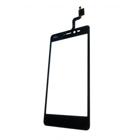 Black-to Wiko Freddy touchscreen glass