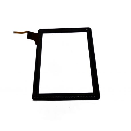 Vitre écran tactile noire MID9748 pour Polaroid
