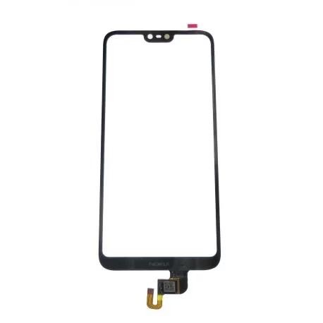 Vitre écran tactile noire pour Nokia X6