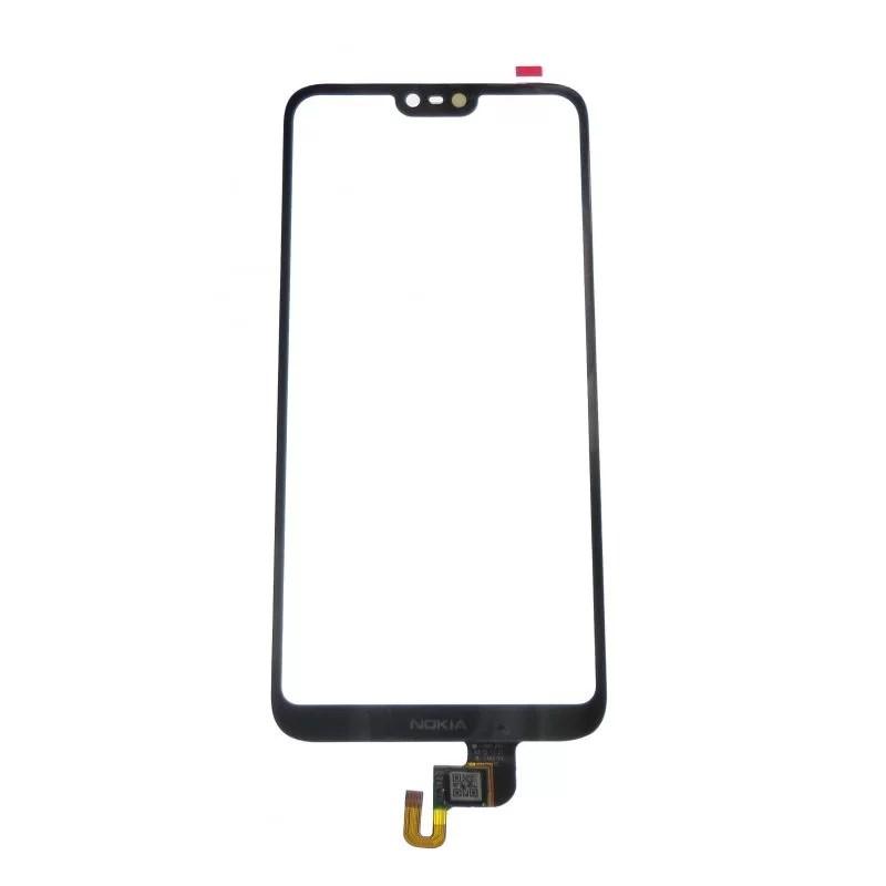Black Glass touchscreen for Nokia X 6
