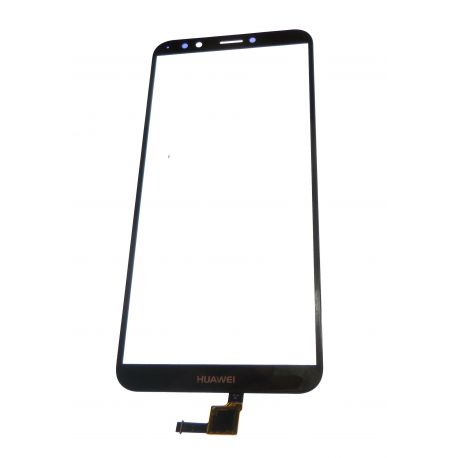 Glass black touchscreen for Huawei Y7 2018