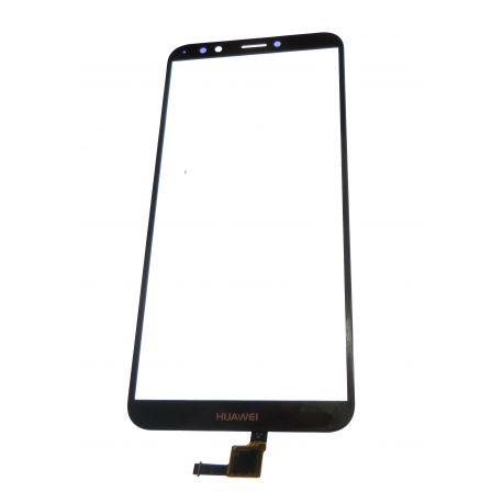 Vitre écran tactile noir pour Huawei Y7 2018