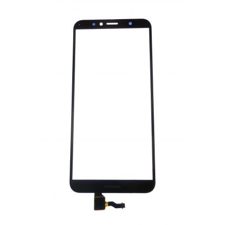 Glass black touchscreen for Huawei Y6 2018