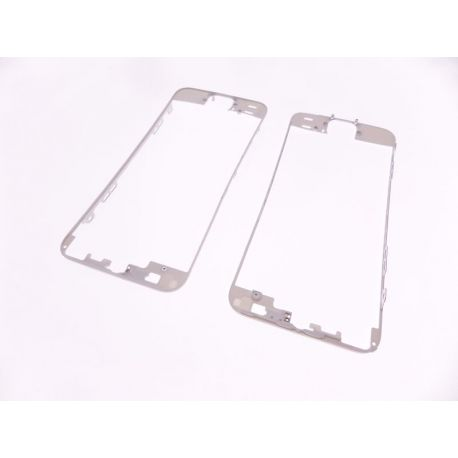 châssis de la vitre tactile compatible Apple Iphone 5S blanc