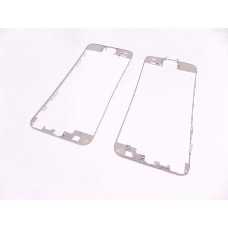 châssis de la vitre tactile compatible Apple Iphone 5S blanc