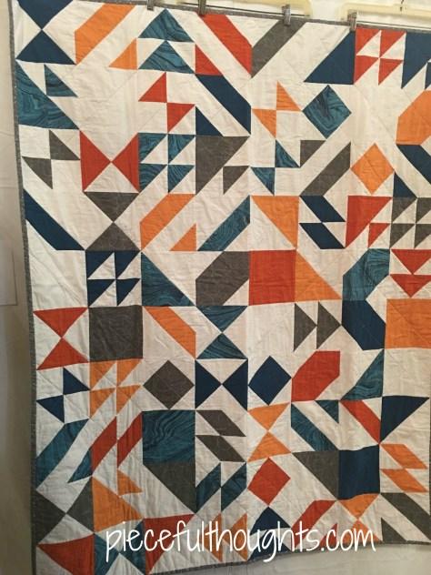 Fractal by Jessie Pendergast, Northfield Quilt Show 2017