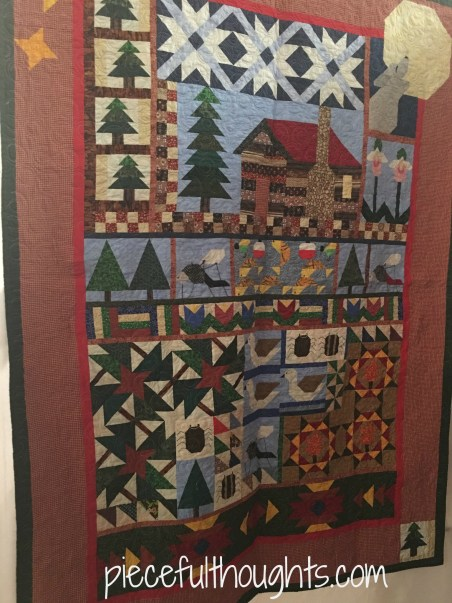 My Minnesota Memories by Barbara Drentlaw, Northfield Quilt Show 2017