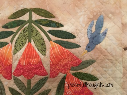 Detail Photo - Remembrance by Victoria Miller, Northfield Quilt Show 2017