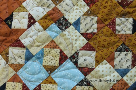 The Reveal - Quilting Closeup - piecefulthoughts.com