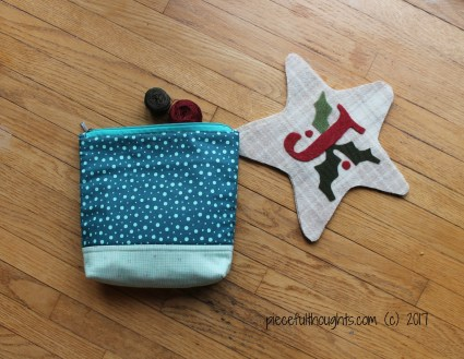 Pieceful Monday - Stitching Project - piecefulthoughts.com 2017