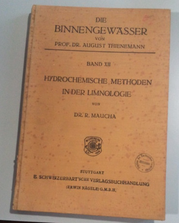 The famous book of Rezso Maucha !