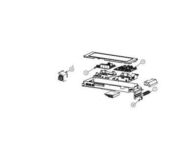 CARTE ELECTRONIQUE-SONDE HITACHI RAM 90NP5B