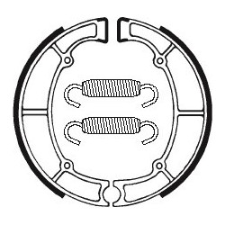 Plaquettes de frein arrière Tecnium pour XVS950 XVS 1300