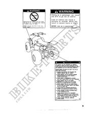 TRX300EXT Manuels Utilisateurs Honda # HONDA Motocyclettes