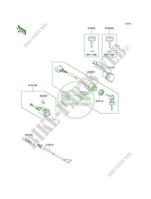 Ignition Switch KAF400CAF MULE 610 4X4 REALTREE APG HD