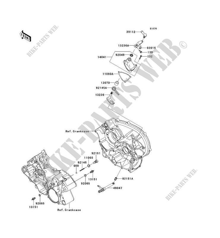 SELECTEUR pour Kawasaki BRUTE FORCE 650 4X4I 2014