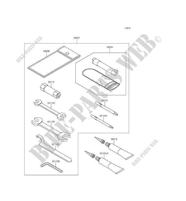 OUTIL UTILISATEUR pour Kawasaki BRUTE FORCE 750 4X4I EPS