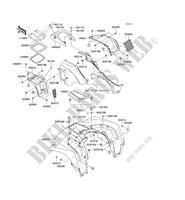 KVF750HCS BRUTE FORCE 750 4X4I EPS 2012 750 QUAD Kawasaki
