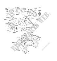 ECHAPPEMENT KVF750JCF BRUTE FORCE 750 4X4I EPS 2012 750