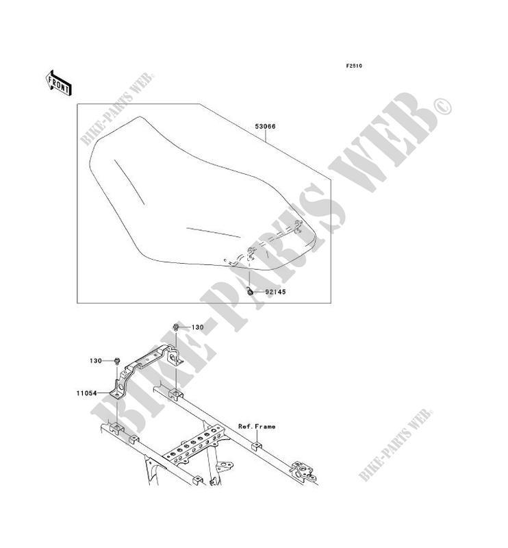SELLE pour Kawasaki BRUTE FORCE 750 4X4I EPS 2012