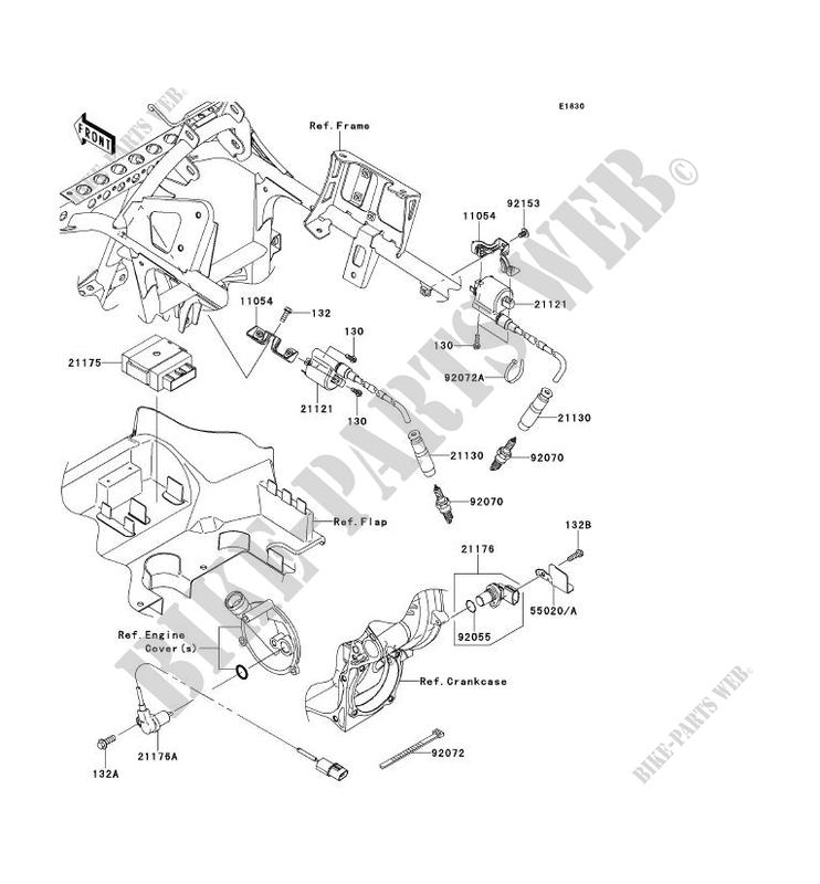 SYSTEME D´ALLUMAGE pour Kawasaki BRUTE FORCE 750 4X4I EPS