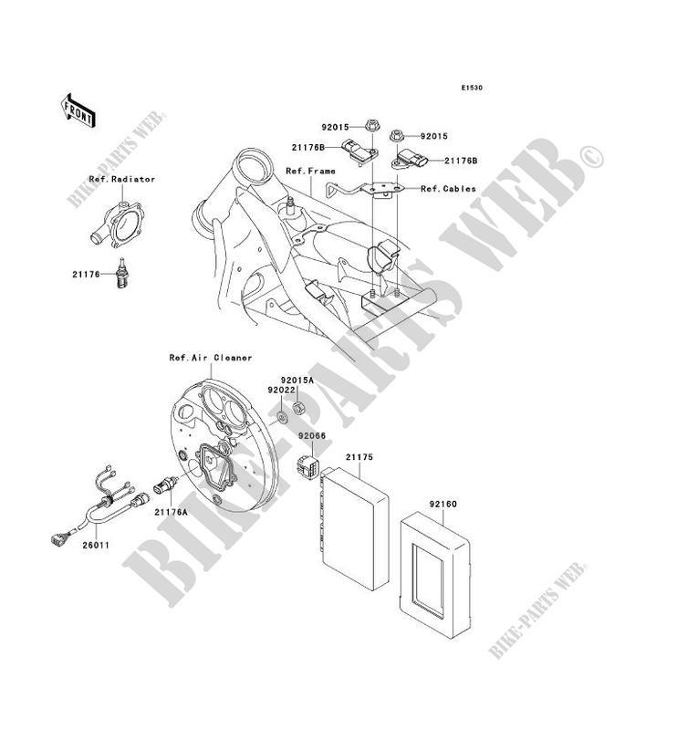INJECTION CARBURANT pour Kawasaki VN1500 CLASSIC TOURER FI