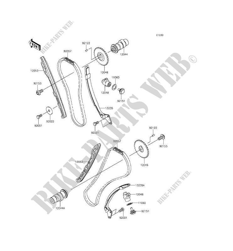 ARBRE A CAME TENDEUR VN900BFF VULCAN 900 CLASSIC 2015 900