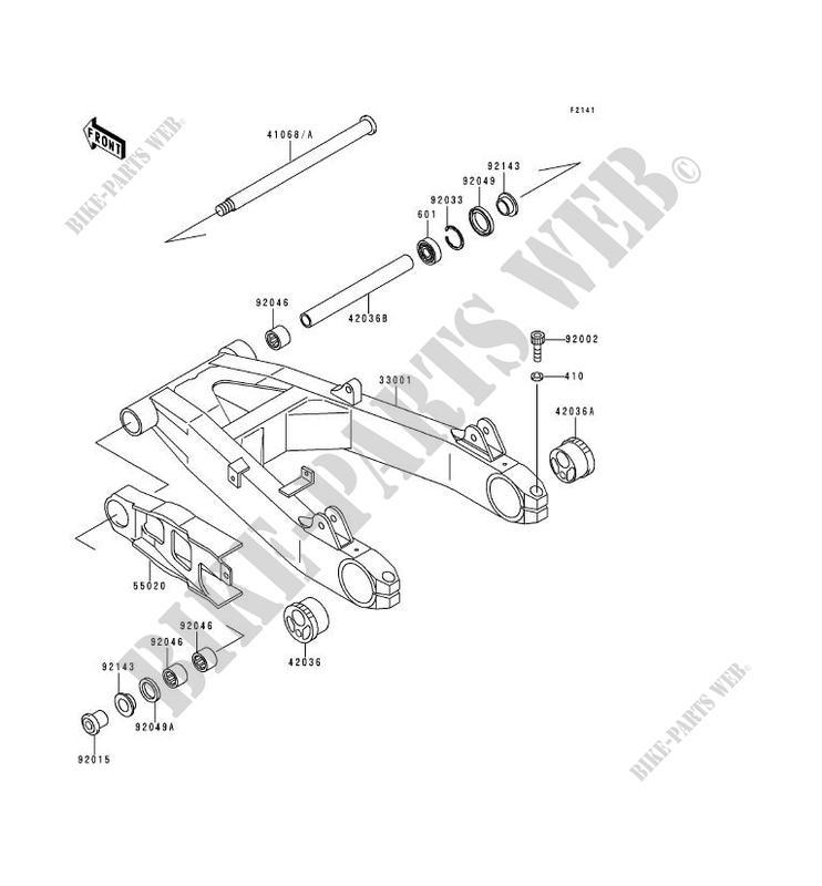 BRAS OSCILLANT ZR1100 A1 ZEPHYR 1100 1992 1100 MOTOS