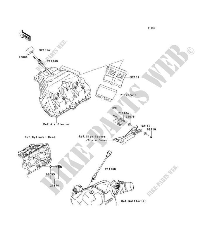 INJECTION CARBURANT pour Kawasaki NINJA ZX-10R 2011