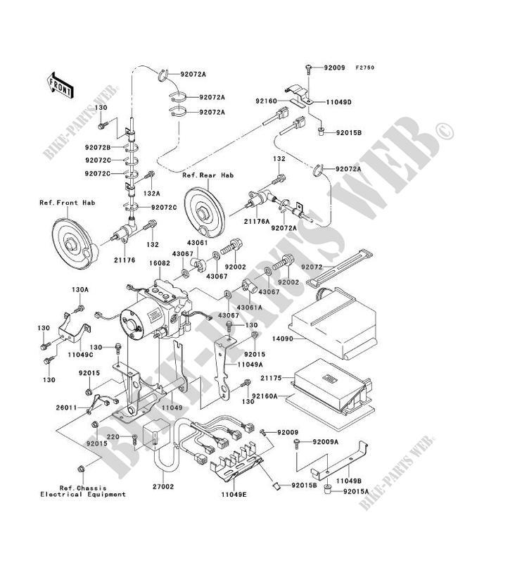 AUTRE ZX1100 F1 GPZ1100 ABS 1996 1100 MOTOS Kawasaki moto