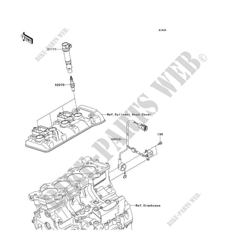 SYSTEME D´ALLUMAGE pour Kawasaki NINJA ZX-6R 2007