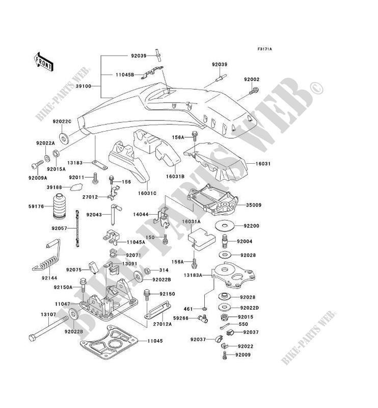 POIGNEE POLE(KAW64651 91 ) pour Kawasaki JET SKI 650SX