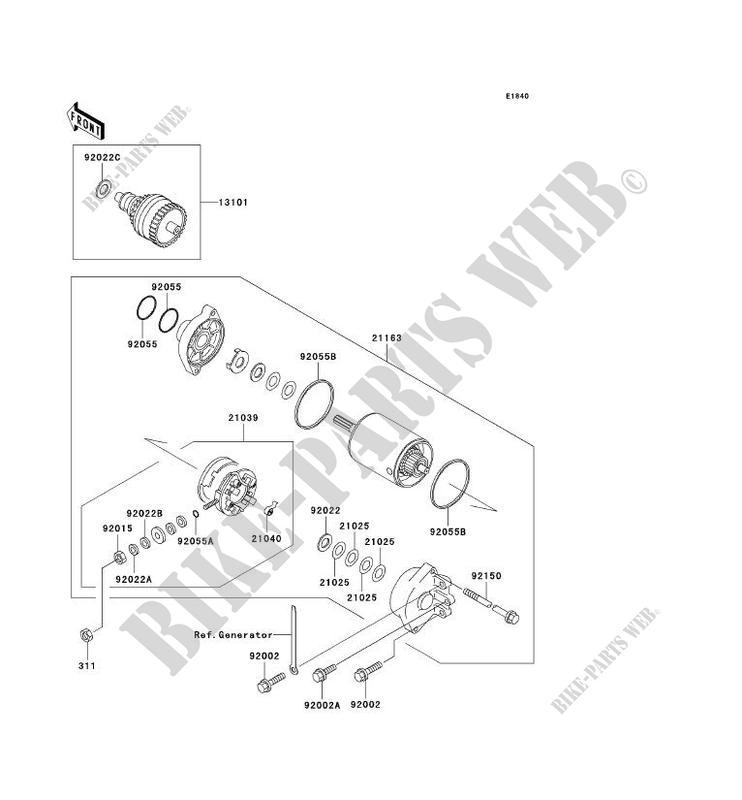 DEMARREUR JS800 A1 JET SKI 800 SX R 2003 800 JET SKI