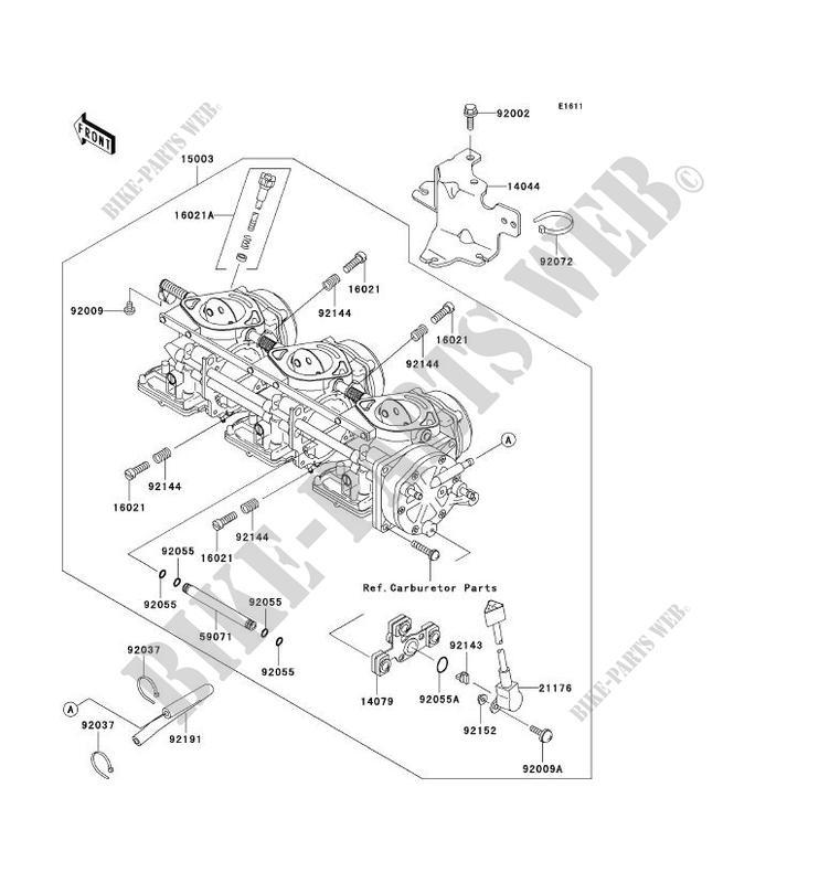 CARBURATEUR pour Kawasaki JET SKI 1200 STX-R 2002